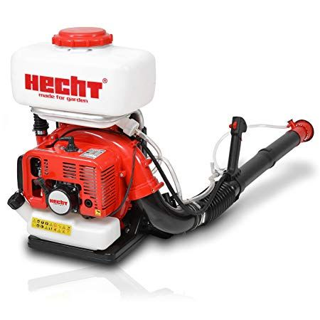 Моторна бензинова пръскачка HECHT 459 с помощна помпа вертикално пръскане